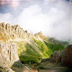 the open places - holgagraphy series Kodak Portra, Fuji, Monument Valley, Mountains, Places, Nature, Travel, Naturaleza, Viajes