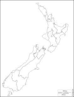 New Zealand : free map, free blank map, free outline map, free base map : coasts, regions (white) Printable Maps, Free Printables, Zentangle Lesson Plan, Map Of New Zealand, Journal News, Free Base, Australia Map, Bullet Journal Inspo, Creating A Business