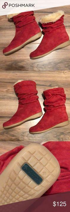 Santana Canada Boots 8 Santana Canada Red Suede Boots Size 8 Waterproof, Faux Fu...  #Boots #Canada #FAUX #red #Santana #Size #suede #waterproof #shoes #decor #women #sneakers #shoe #fashion ? Shoes Suede Boots, Rain Boots, Winter Shoes, Winter Rain, Wedding Shoes, Faux Fur, Canada, Waterproof Shoes, Bangs