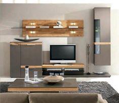 moderne wohnwande eiche, 35 besten wohnzimmer make over bilder auf pinterest in 2018 | eiche, Innenarchitektur