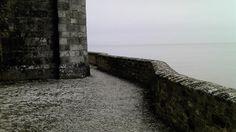 The battlements...