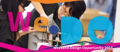 PolyU Design: We • DO Weekend Design Opportunity - Weekend and summer courses for secondary school designers 2015