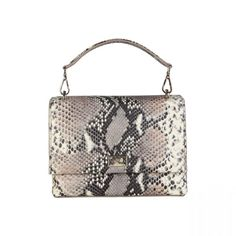 S/S Collection- Women's bag- Clutch- 1 removable handle, 1 removable shoulder strap, magnetic fastening- Inside: zipped pocket, 2 patch pockets- Composition: outside: leather; lining: CO- Size: cm- Including dustbag Grey Clutch Bags, All In One, Dust Bag, Shoulder Strap, Leather, Shopping, Women, Handle