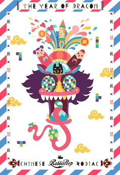 Happy Chinese new year of goat ! on Behance