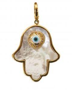 Hamsa Mother of Pearl Pendant aa Pendant Set, Pearl Pendant, 3rd Eye Chakra, Moroccan Jewelry, Greek Evil Eye, Biscuit, Evil Eye Jewelry, Hand Of Fatima, Eye Necklace