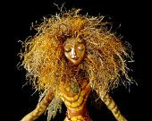 "Art Doll Spirit-Lady of Unakite-OOAK-17"" tall-(Similar Doll Made by Request)"