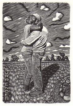 David Frazer Wood Engraving