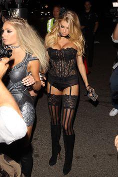 Charlotte McKinney - Casa Tequila Halloween party in Beverly Hills 10/30/15