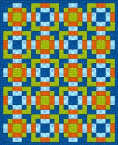 """""""Disappearing 9-Patch Variation"""" block tutorial (from Chock-a-Block Quilt Blocks)"""