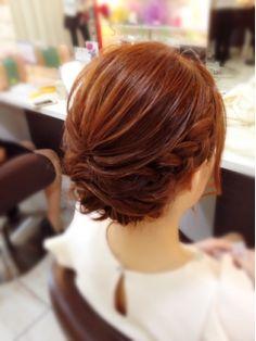 結婚式 髪型 ショートボブ ヘアアレンジ  ☆ショートアレンジ☆