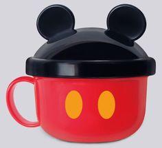Mickey Mouse Mug with Lid