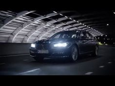April 11 2016: BMW 7 Series: Laserlight.