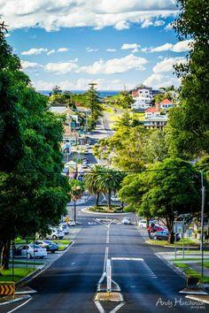 Kiama looking North towards Bombo, Australia