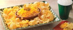 Check out this crowd-pleasing #recipe from Game Day Greats! Jalapeno Refried Bean Dip