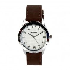 Provogue Smart Round Dial and Brown Belt Gents Watch