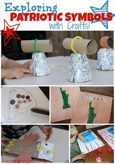 Exploring Patriotic Symbols Crafts