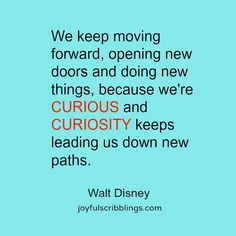 Curiosity Quotes Prepossessing Curiosity Quote  Quotes And Sayings  Pinterest  Words Worth