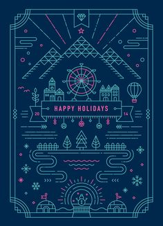 2014 Holiday Greeting Card on Behance