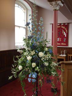 Pedestal in church