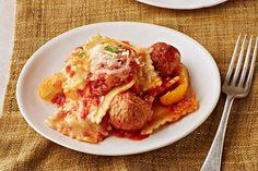 Ravioli & Meatball Slow-Cooker Casserole - Kraft Recipes