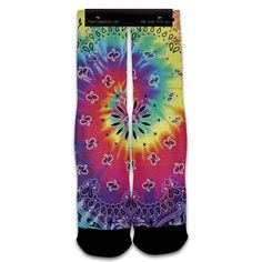 Function - Tie Dye Bandana Fashion Socks