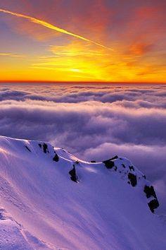 Sea of cloudsby Adrian Petrisor