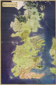 Westeros is one of the four known continents in the known world, the others being Essos, Sothoryos, and Ulthos. Most of the area of Westeros is covered by a political entity known as the Seven Kingdoms, while the far north beyond the Wall includes the free folk.