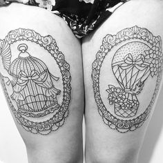 Love the birdcage...part of my next tattoo for sure.  Especially since we used a bird cage as our wedding card holder.  - Miriam