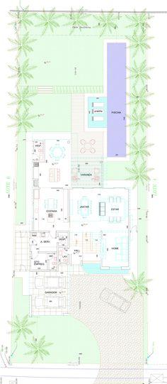 Residência DF / PUPO+GASPAR Arquitetura & Interiores plan