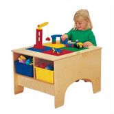 Found it at Wayfair - KYDZ Building Table - Duplo Compatible