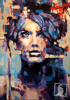 acryl on canvas, 50x70