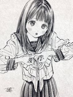 Manga Girl, Manga Anime, Anime Art, Manga Artist, Anime Sketch, Dark Anime, Thing 1, Manga Drawing, Drawing Reference