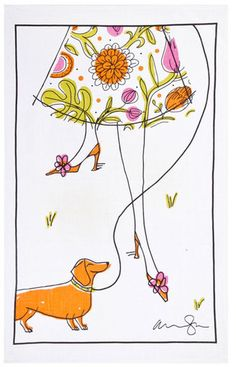 Alanna Cavanagh tea towel.  I love this, but unfortunately I think they are sold out right now.  I'll keep looking!