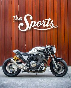 Yamaha XJR1300 Cafe Racer. Yamaha Cafe Racer by The Sports Custom