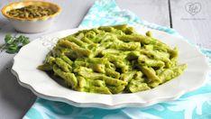 Creamy Avocado Pasta with a simple pasta sauce. #vegan #glutenfree #healthy