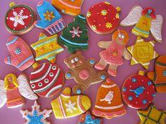 Puckycakes: Galletas de Navidad Decoradas con Fondant