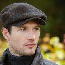 Tweed-Kappe 'Mens Driver' von Jonathan Richard      bestellen - THE BRITISH SHOP…