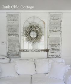 Junk Chic Cottage: My Cottage Home