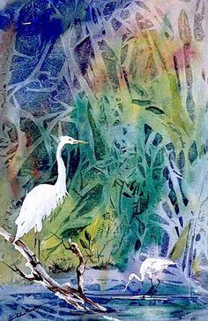 Art, right heron the coast - Artsy - Oregon Coast Today