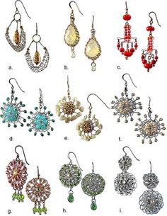 If yesterdays book review piqued your interest in knit and crochet wire jewelry, here is another resource for you. Stitch Diva Studios has this collection of 9 different styles of earrings for you…