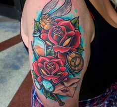 Harry Potter roses