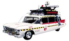 Amazon.com: Round 2 Ghostbusters Ecto-1 1:25 Scale Model Kit: Toys & Games