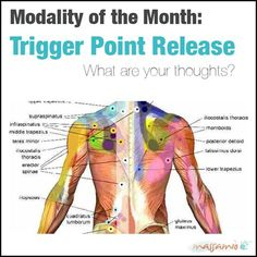 Trigger point release is a very common technique in Western massage. A trigger point is a hypersensitive area of the muscle that can cause pain, burning, tingling, restricted range of motion, and weakness. Trigger point release can be very effective for ongoing muscle pain due to overuse, injury, repetitive motion, sports, and disease.