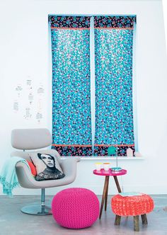 Easy fabric panel curtains