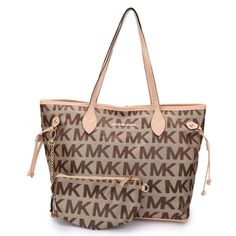Michael Kors Jet Set Signature Large Khaki Totes Is Received By Many Women.You Can Choose What You Like.