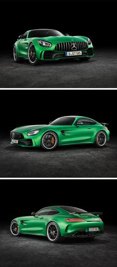 Aerodynamics engineers and designers all worked together in the development of the new Mercedes-AMG GT R Mercedes Sports Car, Mercedes Amg Gt R, New Supercars, Custom Muscle Cars, Lux Cars, Top Luxury Cars, Fancy Cars, Sweet Cars, Automobile