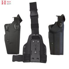 Hlhsport Tactical Combat For Safariland Glock 1911 Holster Light Bearing Waist Belt & Leg Gun Holsters for Glock 17 M1911 #Affiliate
