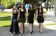 Pretty Little Liars Season 4, Episode 1: Funeral Fashion Face-Off
