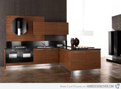 15 Designs of Modern Kitchen Cabinets