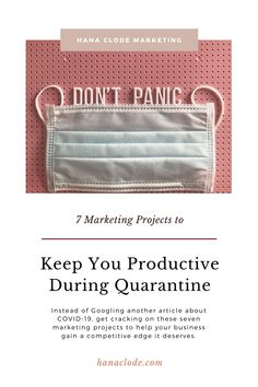 7 Marketing Projects to Keep You Productive During Quarantine - Hana Clode Create Email Template, Email Templates, Inbound Marketing, Email Marketing, Digital Marketing, Marketing Program, Marketing Tools, Website Images, Website Layout